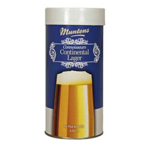 Солодовый экстракт Muntons Continental Lager (1,8 кг.)