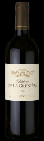 Вино Château De La Grenière Lussac Saint-Emilion AOC 0,75 л.
