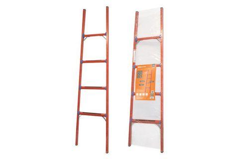 Лестница диэлектрическая ЛД-4, 4 ступени, высота 1,8 м, до 50 кВ,