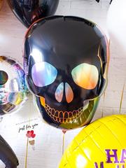 Воздушный шар череп