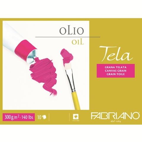 Скетчбук-склейка для масла Fabriano