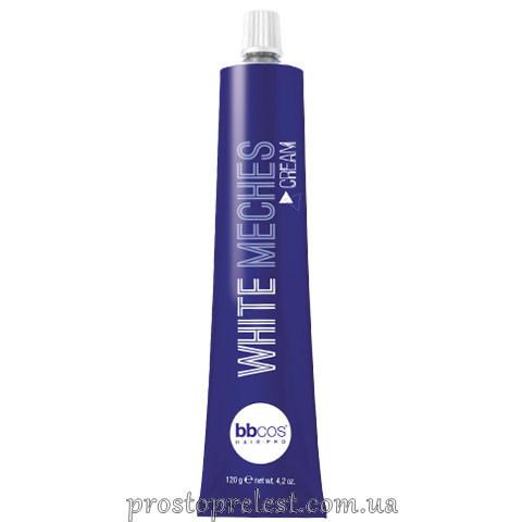 BBcos White Meches Bleaching Cream - Крем для обесцвечивания волос