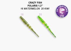 Силикон CRAZY FISH POLARIS 1,2
