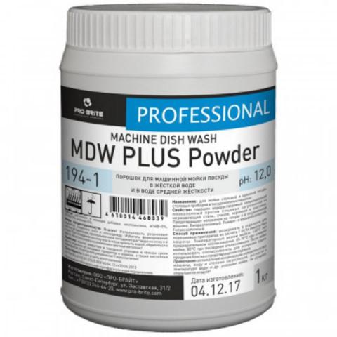Профессиональная химия Pro-Brite MDW PLUS Powder 1 кг (194-1) порошокд/ПММ