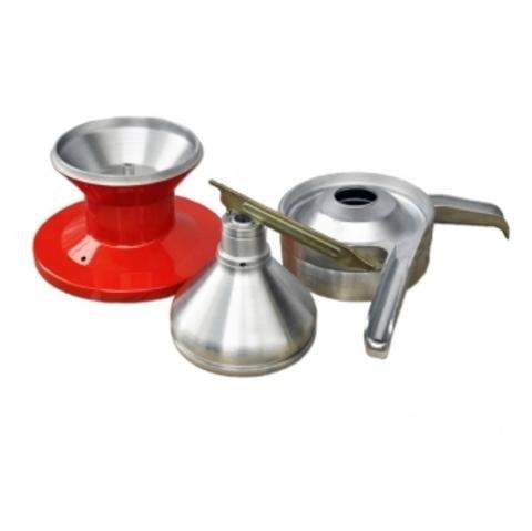 Молочный сепаратор ручной СЦРМ 80 бытовой, детали барабана