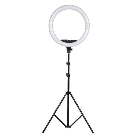 Кольцевая светодиодная лампа 36 см Ring Fill Light со штативом для профессиональной съемки