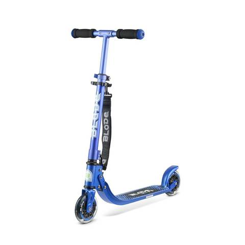 купить Самокат BLADE Kids Jimmy 125, blue/metallik со светящимися колесами