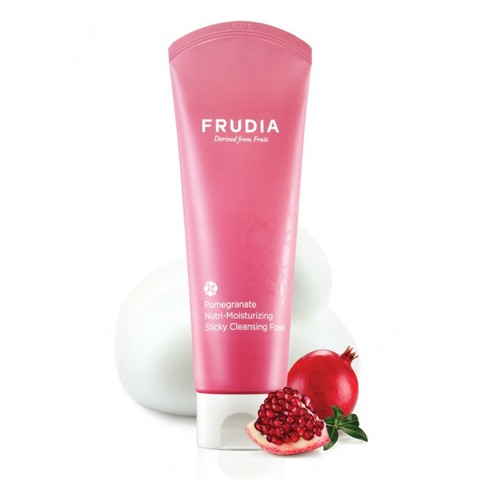 Frudia Pomegranate Nutri-Moisturizing Sticky Cleansing Foam Фрудиа Питательная пенка-суфле с гранатом 145гр
