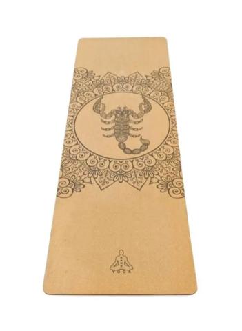 Коврик для йоги Scorpio Zodiac Collection 183*60*0,4 см из пробки
