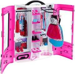 Шкаф для куклы Barbie Розовый