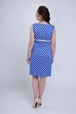 Платье для беременных 06198 синий в горох