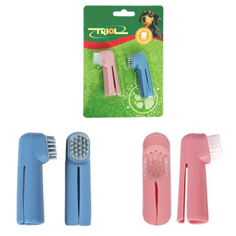 Набор зубных щеток-напальчников 2 шт.