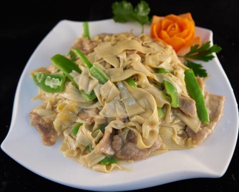 9--5Кан-тофу со свининой и перцем尖椒干豆腐495р400грНОВИНКА