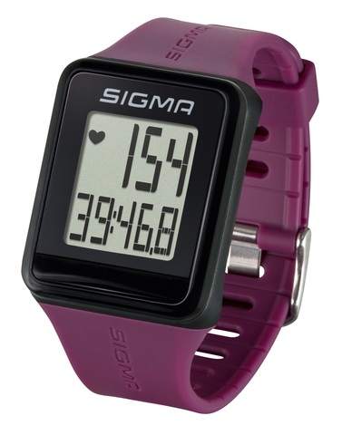 Пульсометр Sigma ID.GO фиолетовый (plum)