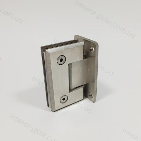 Петля душевая к стене HDL-301 SSS матовая нержавеющая сталь