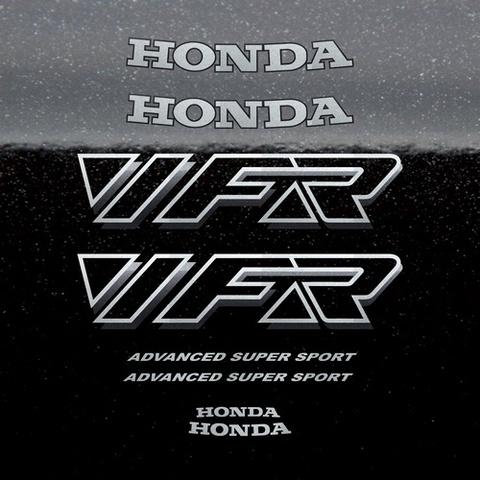 Набор виниловых наклеек на мотоцикл HONDA VFR 750,1992, для черной версии.