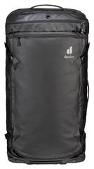 Сумка-рюкзак на колесах Deuter Aviant Duffel Pro Movo 90 black