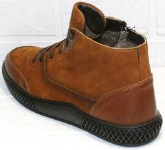 модные ботинки мужские на зиму