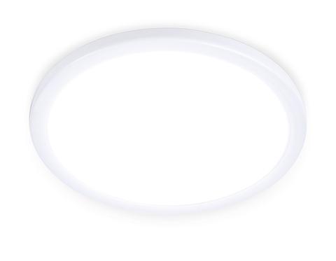 Встраиваемый ультратонкий светодиодный светильник с регулируемым крепежом DLR313 20W 4200K 220-240V D230*25 (A50-210)