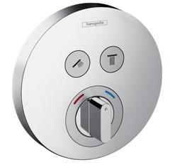Термостат встраиваемый на 2 потребителя Hansgrohe ShowerSelect 15748000 фото