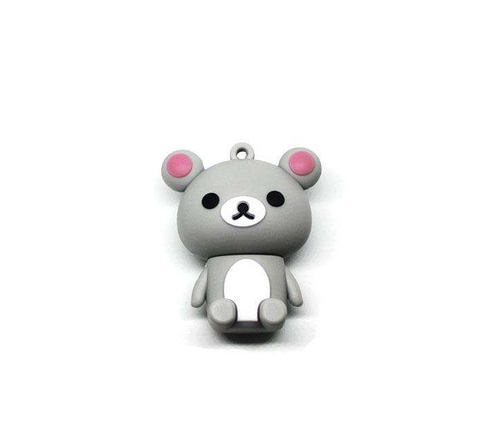 usb-флешка медведь серый