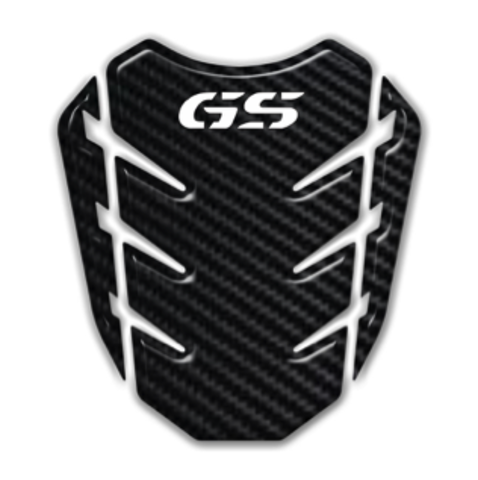 Наклейка на бак BMW GS карбоновая