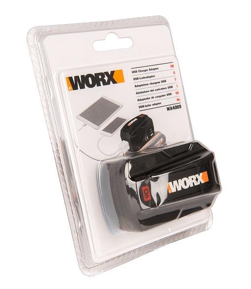 USB адаптер для аккумуляторов WORX POWERSHARE 20В