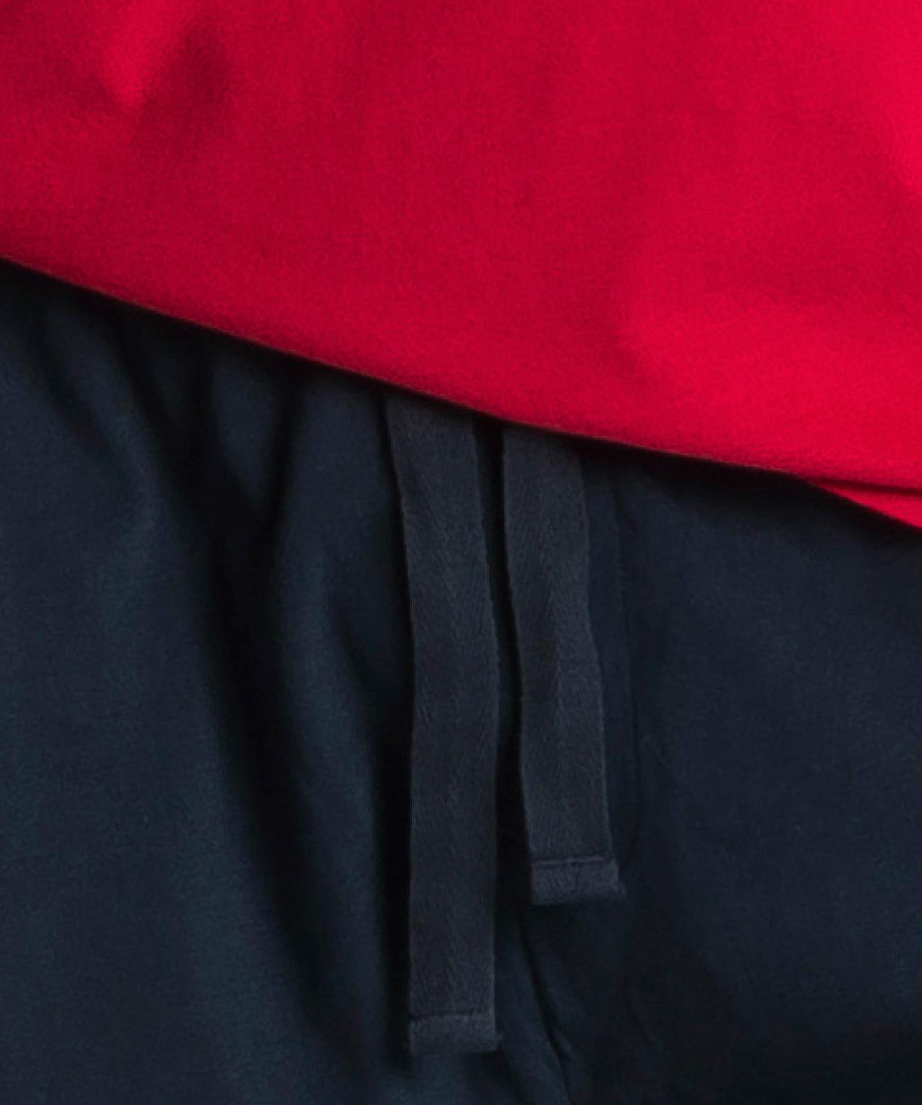 Мужская пижама Atlantic, 1 шт. в уп., хлопок, красная, NMP-346