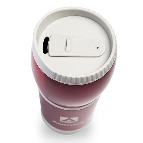 Термокружка Арктика (0,4 литра) без ручки, красная