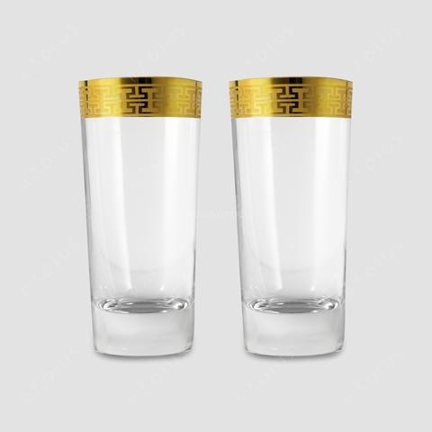 Набор стаканов для воды «Hommage Gold Classic», 468 мл.