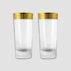 Набор стаканов для воды «Hommage Gold Classic», 468 мл., фото 1