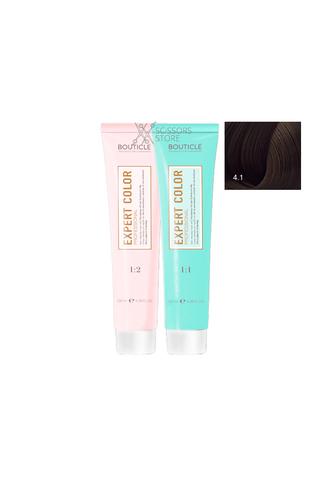 Expert Color Hair Color Cream 4/1 шатен пепельный 100 мл