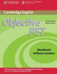 Objective PET 2nd Edition Workbook without answers
