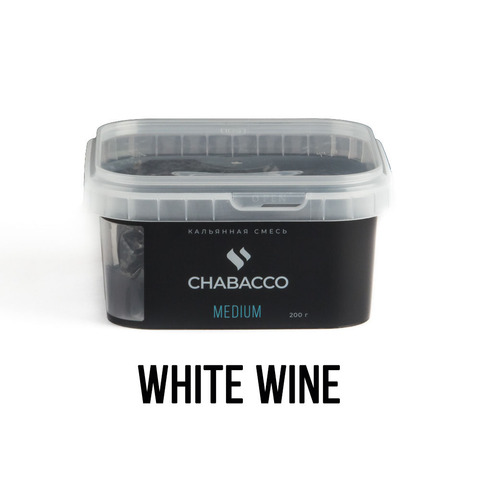Чайная смесь Chabacco Medium 200 г - White Wine (Белое Вино)