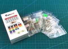 Набор выводных резисторов 0.25W (100 Ом-910 Ом) 24 номинала по 10шт.