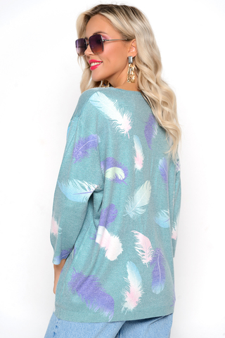 """<p>Пуловер """"Блюмарин"""" - актуальная модель на осень 2021. Идеальный женственный вариант на каждый день.&nbsp;</p>"""