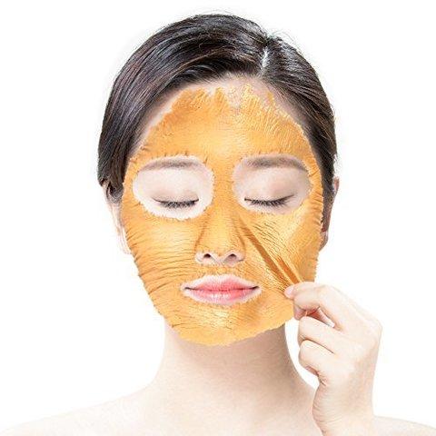 Пептидная золотая омолаживающая маска-пленка  Elizavecca Milky Piggy Hell-Pore Longo Longo Gronique Gold Mask Pack