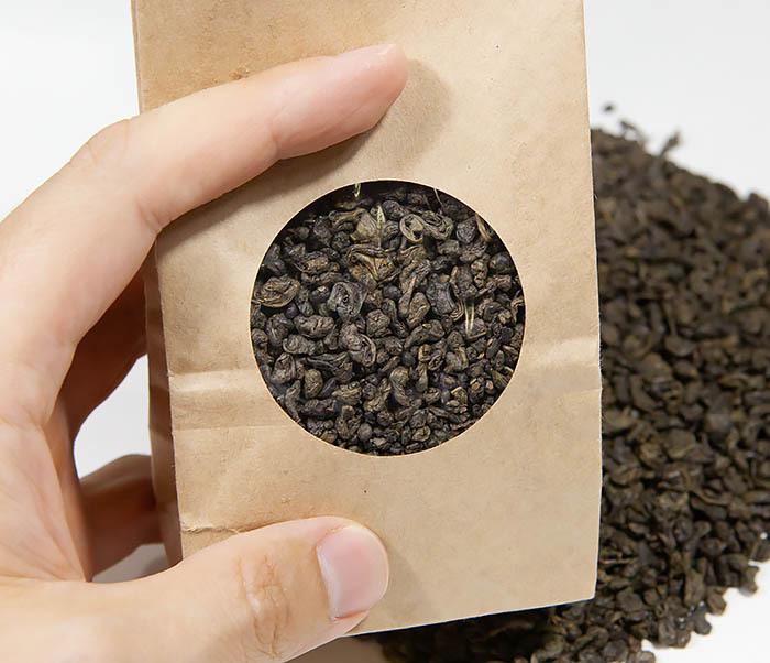 TEA-CH129 Зеленый китайский чай «Ганпаудер» (Люй Чжу, 50 гр) фото 06