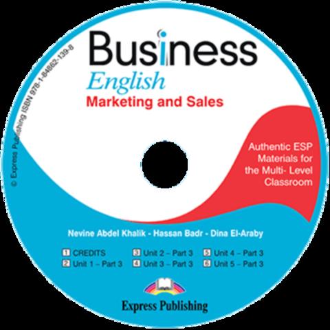 Business English Marketing and Sales Class Audio CD. Аудио CD для работы в классе