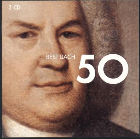 VARIOUS ARTISTS:  50 Best Bach
