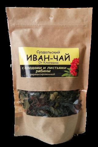 Иван-чай «с  плодами и листьями рябины» Суздаля