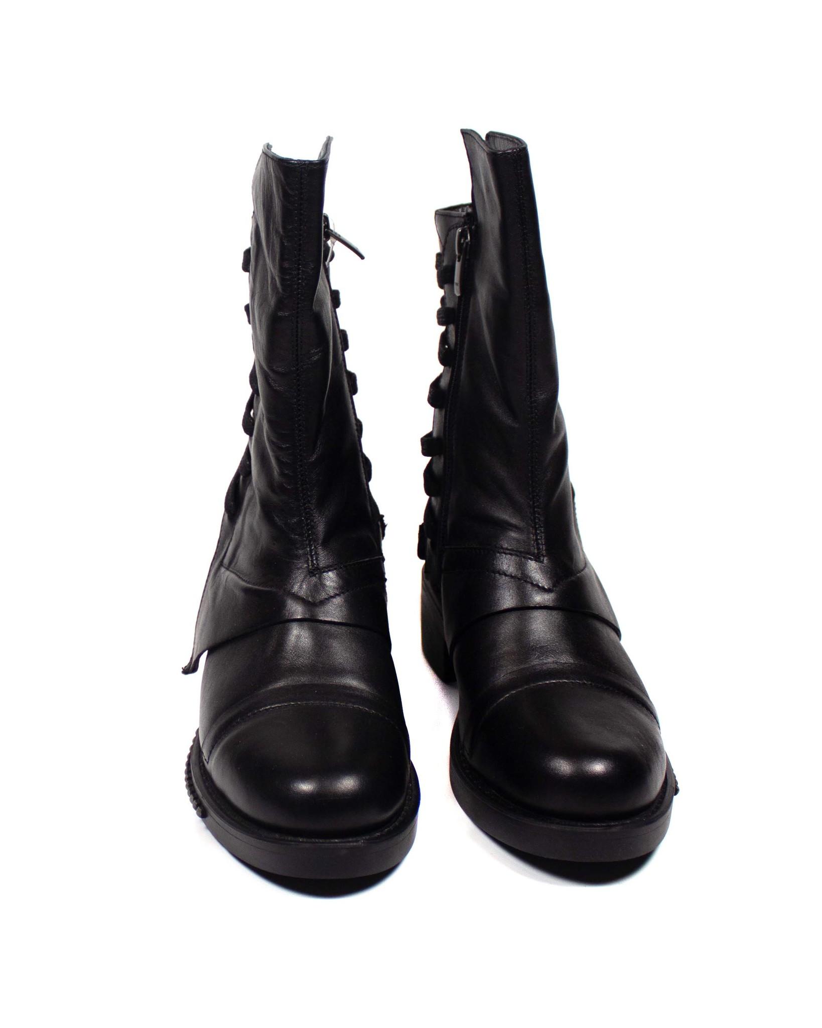 черные ботинки Secret Zone