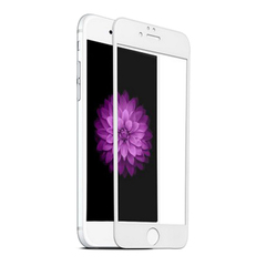 Защитное 3D-стекло для iPhone 6/6S White - Белое