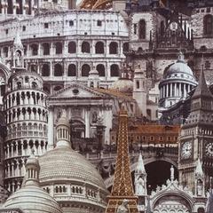 Микровелюр Architecture sand (Архитектура сенд)