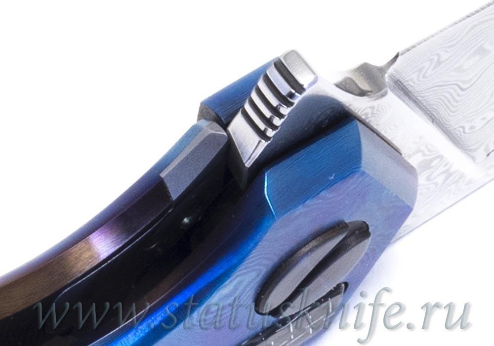 Нож Чебуркова Касатка Custom дамаск - фотография