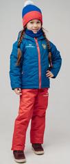 Детский тёплый прогулочный лыжный костюм Nordski Jr-Kids Patriot
