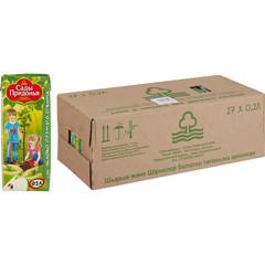 Сок Сады Придонья яблочный 0.2 л (27 штук в упаковке)