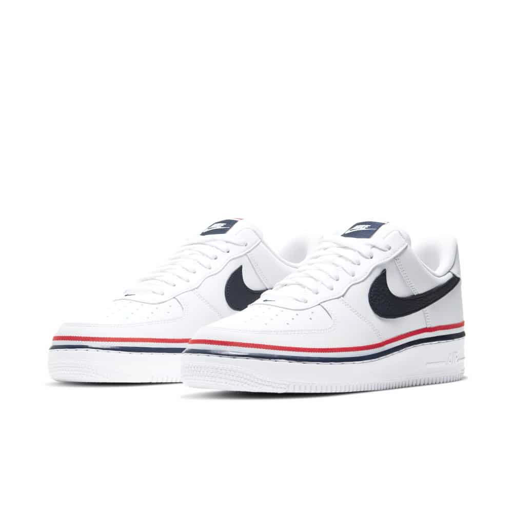 Nike Air Force 1 Ribbon White