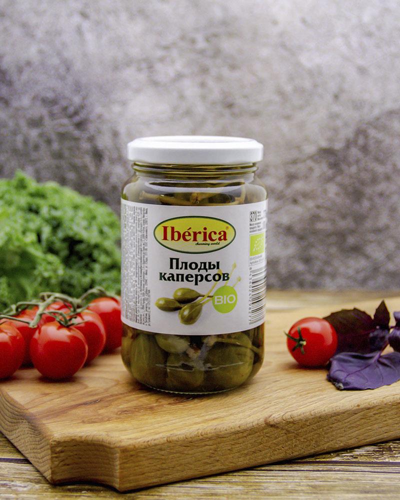 Плоды каперсов Iberica BIO 370 гр.