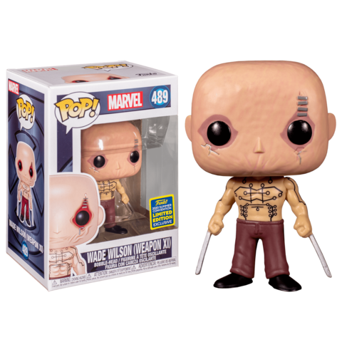 Фигурка Funko Pop! Marvel: X-Men Origins: Wolverine - Wade Wilson (Weapon XI) (Excl. to San Diego Comic Con)